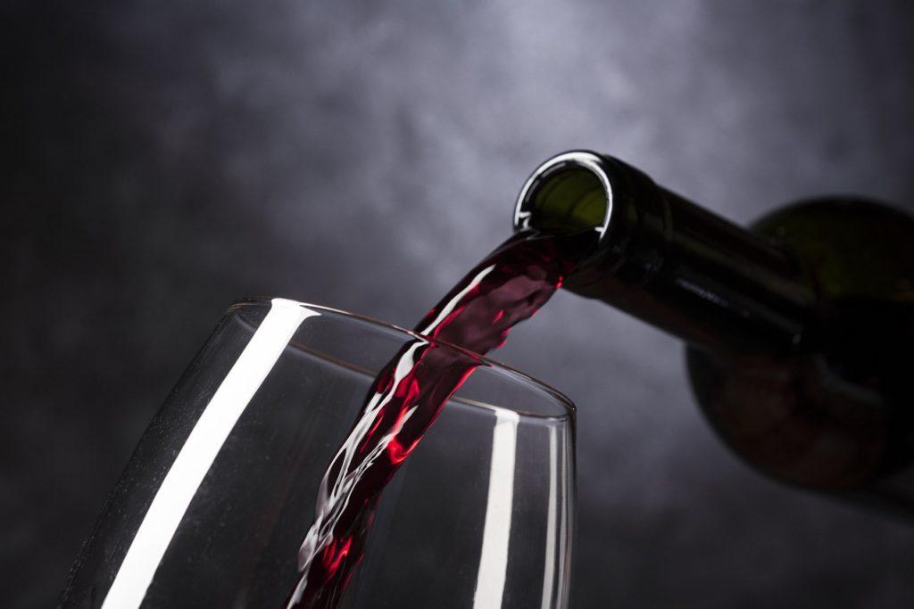 wine, bottle of wine, red wine